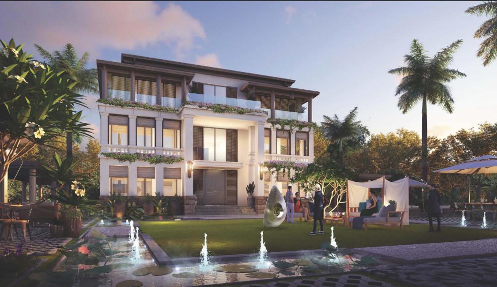 Biệt thự VIP tại dự án Sunshine Heritage ở Hà Nội