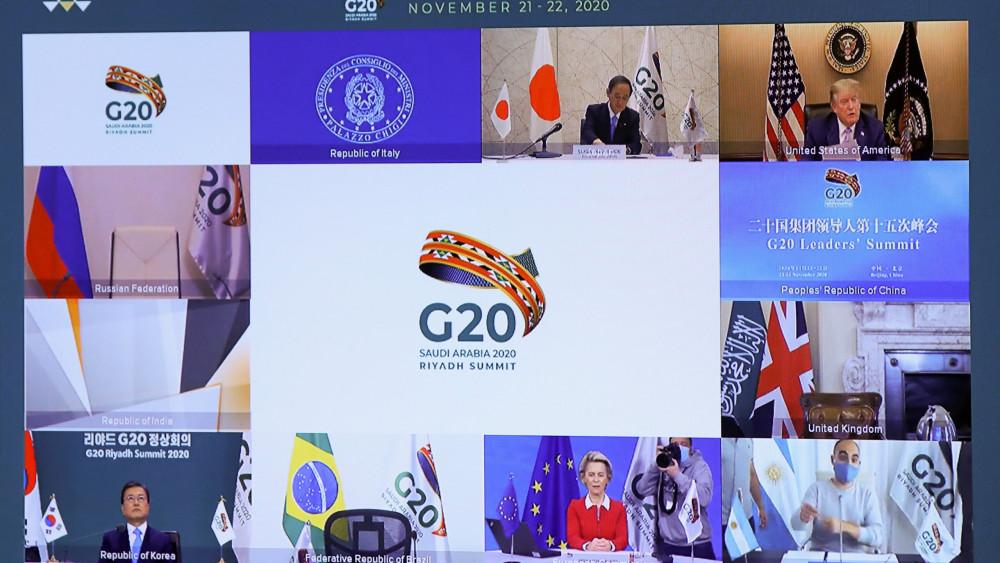 Các nhà lãnh đạo G20 thảo luận về cách giúp đỡ các nước nghèo phục hồi kinh ết sau đại dịch.
