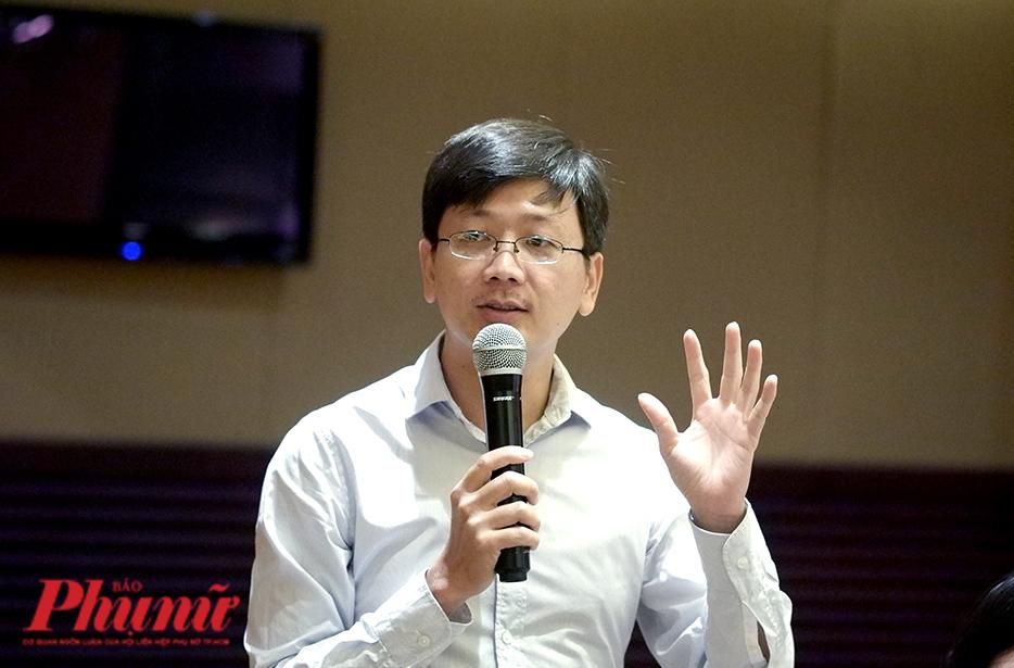 Tiến sĩ Giang Hoa – Viện Di truyền y học TPHCM