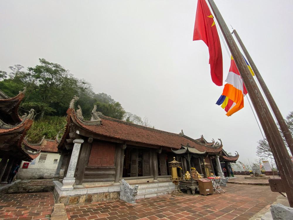 Khu vực chùa Hoa Yên.