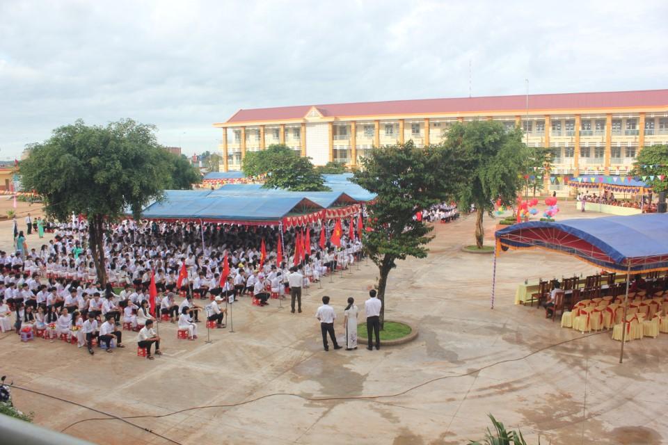 Trường THPT Phước Bình    Ảnh website nhà trường