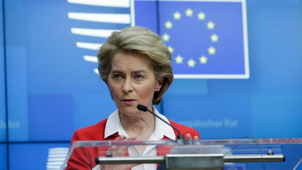 Bà Ursula von der Leyen  cảnh báo việc phân phối vắc-xin và tiêm chủng mới là thách thức quan trọng nhất.