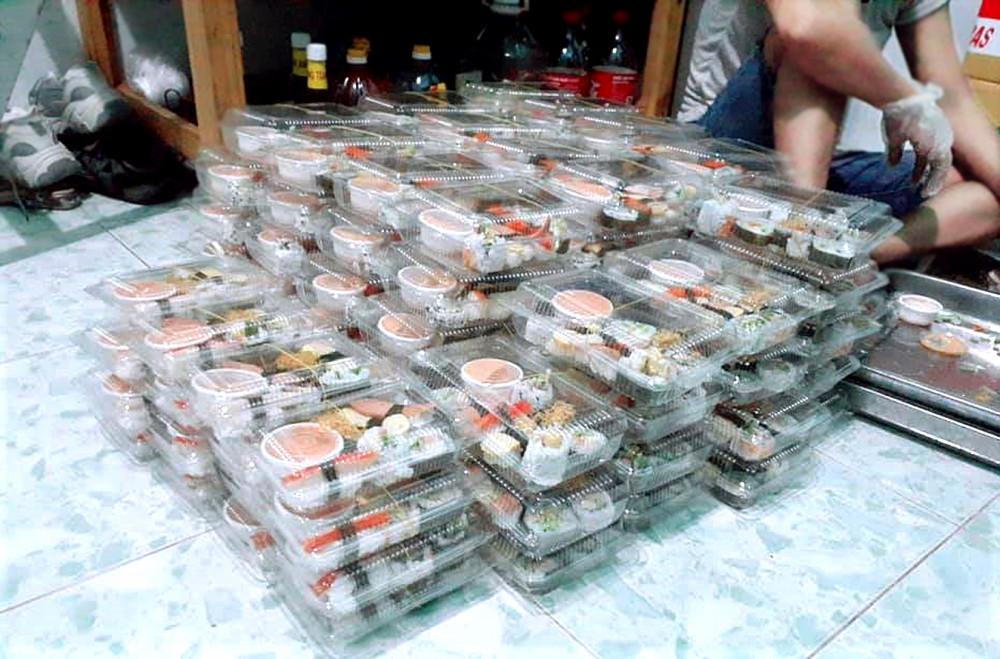 Nhiều điểm bán sushi ở TP.HCM thay nguyên liệu cá hồi bằng các loại cá nước ngọt
