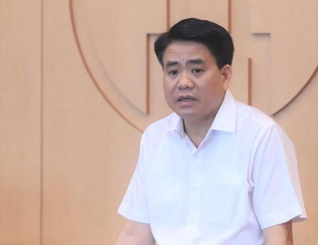 Bị can Nguyễn Đức Chung bị cáo buộc là chủ mưu vụ án.