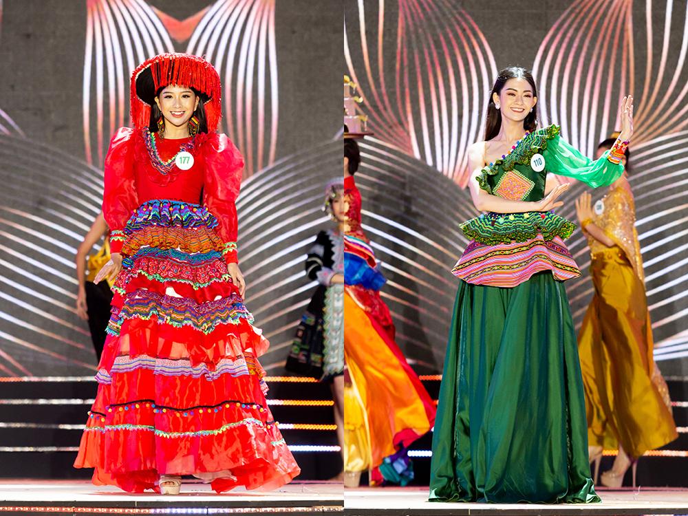 Trang phục của Phan Dạ Quỳnh và Nguyễn Công Phương  Mai