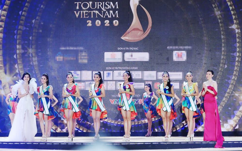 Top 5 thí sinh đoạt giải thưởng phụ Hoa khôi Du lịch Việt Nam 2020.