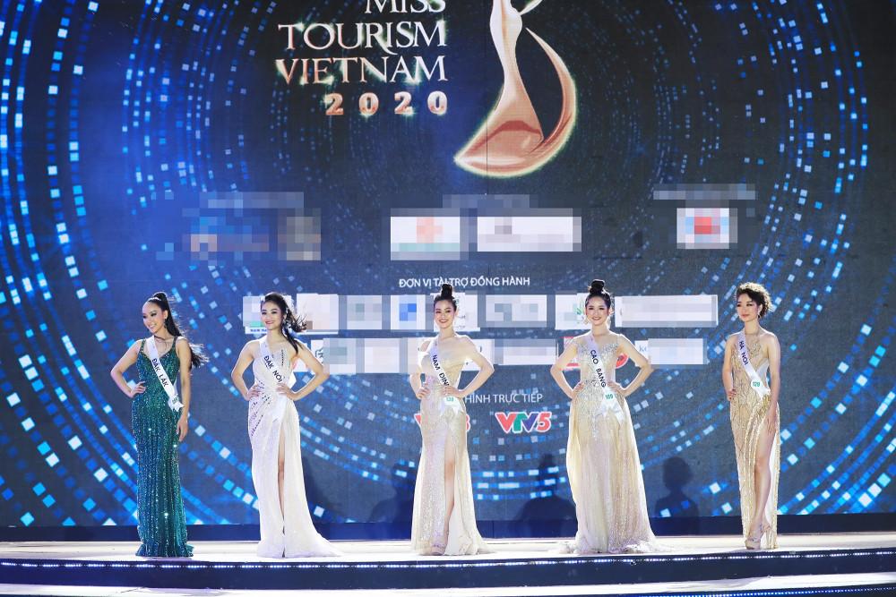 Top 5 thí sinh Hoa khôi Du lịch Việt Nam 2020.