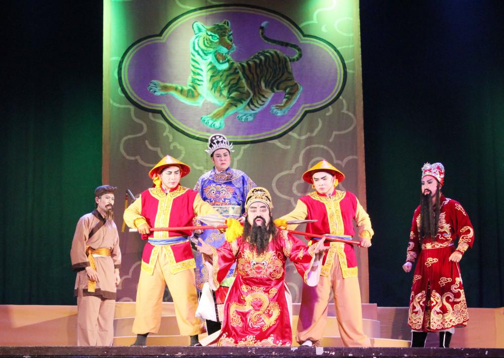Vở hát bội Lê Công kỳ án đạt huy chương vàng tại Liên hoan Nghệ thuật Sân khấu chuyên nghiệp Tuồng, Bài chòi và Dân ca kịch toàn quốc 2018