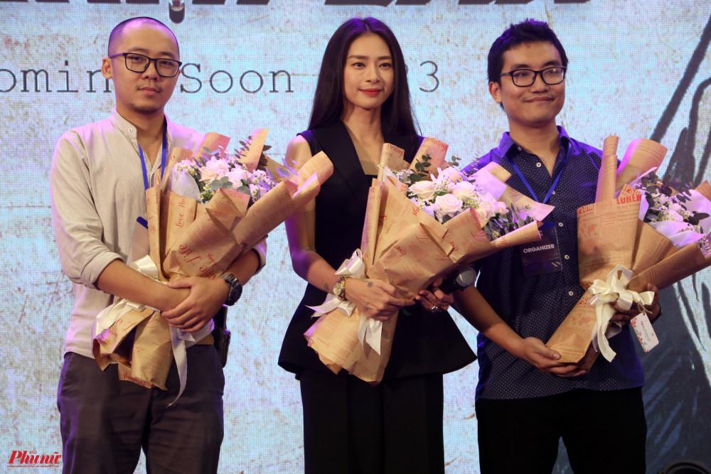Ngô Thanh Vân và 2 tác giả của Long thần tướng.