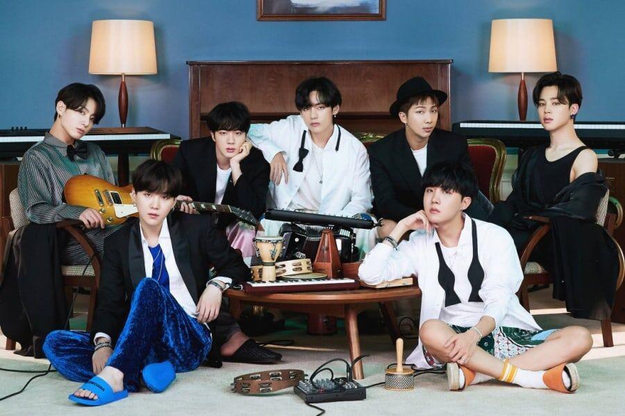 BTS tiếp tục tạo nên lịch sử cho K-pop.