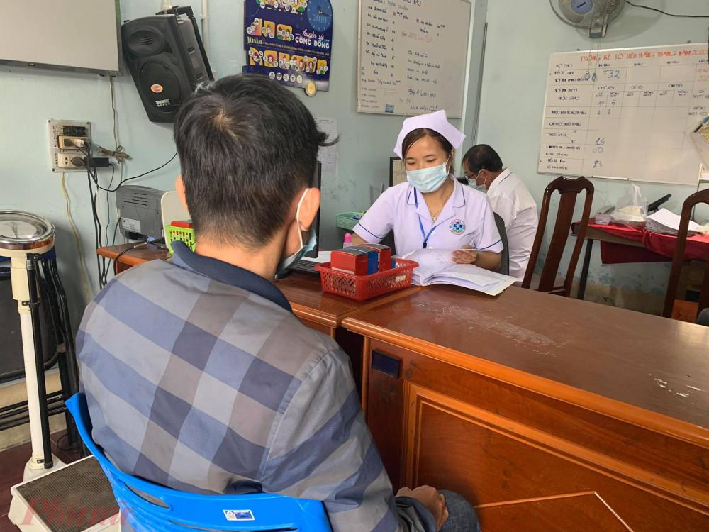 Bệnh nhân nhiễm HIV khám tại phòng khám ngoại trú (OPC) TP. Biên Hoà