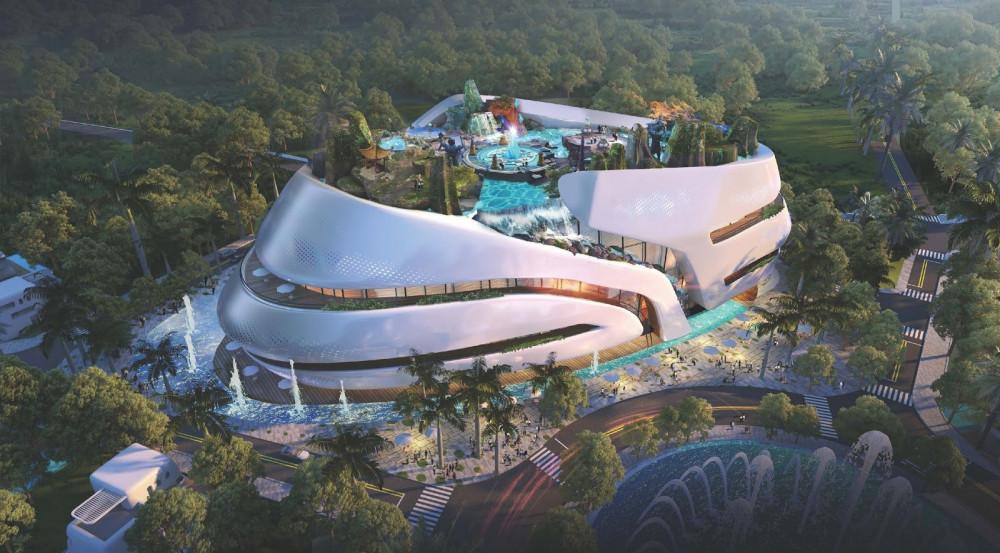 Sunshine Heritage Resort, thành phố giải trí, nghỉ dưỡng thông minh, trải nghiệm văn hóa di sản tại Hà Nội