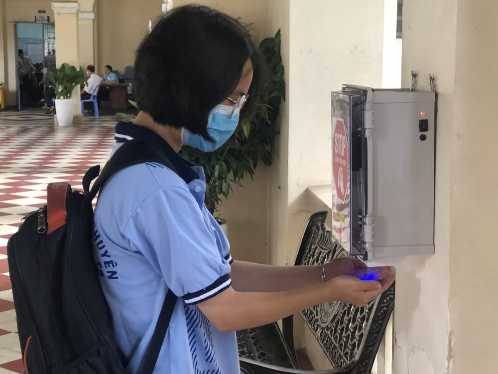 Trường học tại TP.HCM tăng cường các biện pháp phòng chống COVID-19