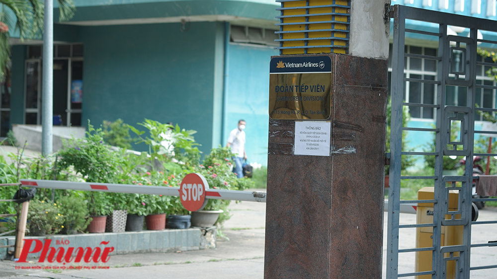 Những thành viên trong tổ bay tại khu cách ly của hãng hàng không Vietnam Airlines đã được chuyển cách ly tại Bệnh viện dã chiến Củ Chi sau khi xuất hiện ca bệnh 1342