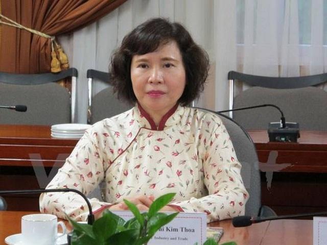 Bà Hồ Thị Kim Thoa đang lẩn trốn