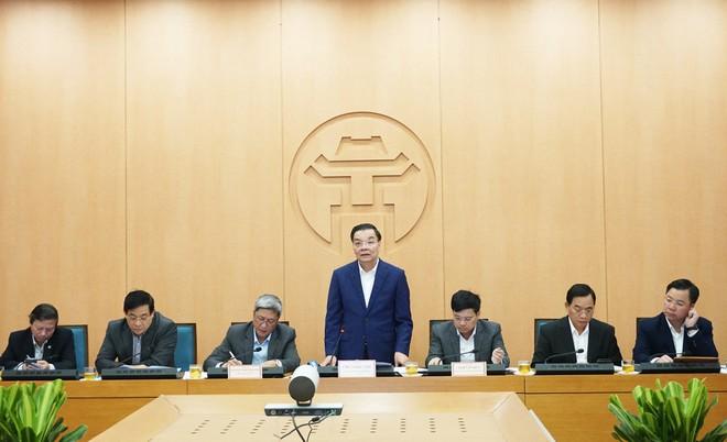 Ban chỉ đạo phòng chống dịch Hà Nội làm việc trước diễn biến phức tạp của dịch bệnh