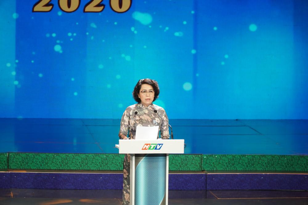 Bà Tô Thị Bích Châu - Chủ tịch Ủy ban MTTQ Việt Nam TPHCM