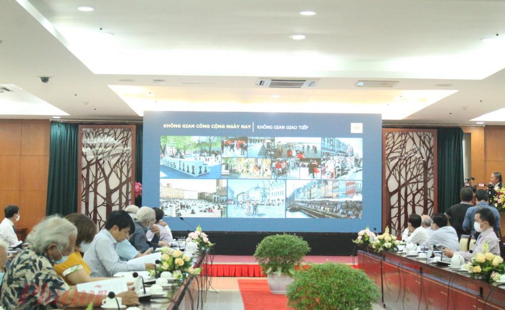 """Tọa đàm """"Không gian văn hóa công cộng tại TPHCM: thực trạng, nhu cầu và giải pháp"""""""