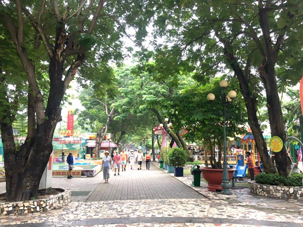 Chưa có nhiều hoạt động văn hóa tại các công viên truyền thống