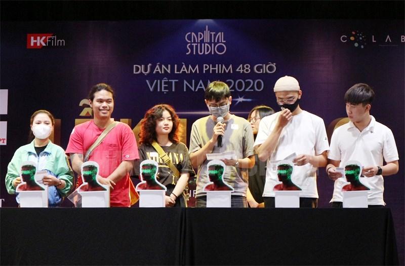 Dự án làm phim 48 giờ thu hút nhiều bạn trẻ đam mê phim ảnh tham gia.