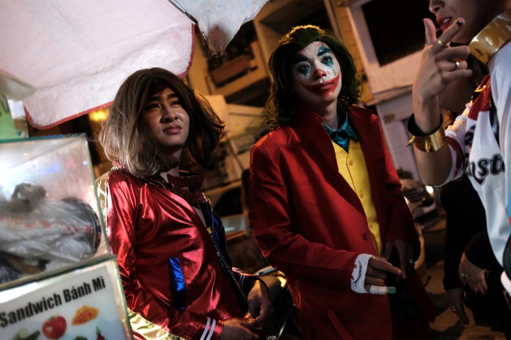 Halloween ở Sài Gòn