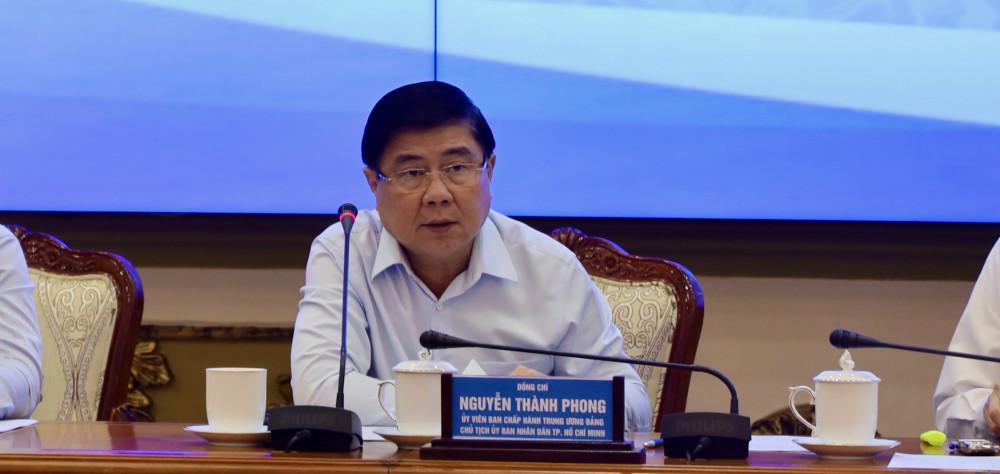 Chủ tịch UBND TPHCM Nguyễn Thành Phong cho biết, vốn ODA là nguyên nhân chủ yếu khiến tỷ lệ giải ngân của thành phố không đạt