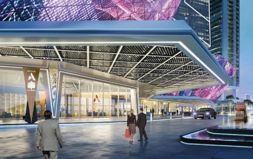 Khách sạn 6 sao Sunshine Empire sẽ được xây dựng theo tiêu chuẩn khắt khe của Accor Group -tập đoàn quản lý khách sạn hàng đầu thế giới