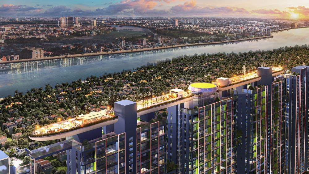 Dự án Sunshine Crystal River có tổng mức đầu tư 12.000 tỷ đồng