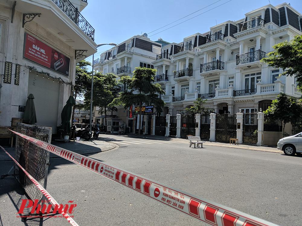Khu vực bị tạm phong tỏa tại quận Gò Vấp, hiện đã được gỡ bỏ phong tỏa