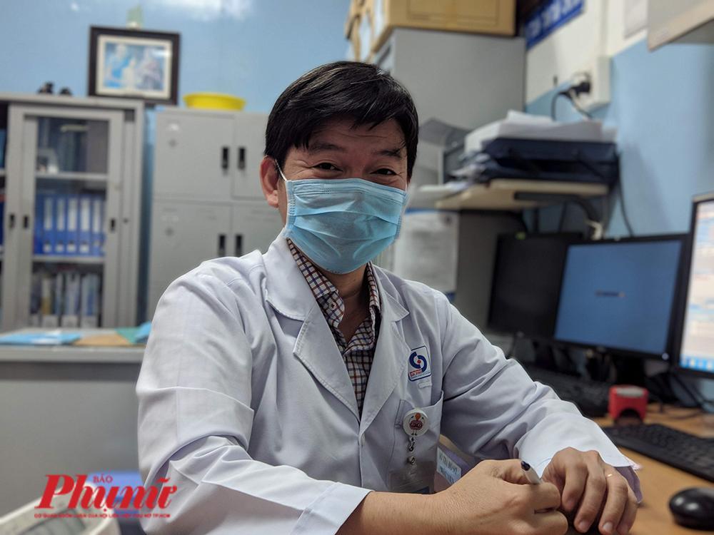 Bác sĩ Võ Văn Tân – Trưởng khoa Nội thần kinh, Bệnh viện nhân dân Gia Định