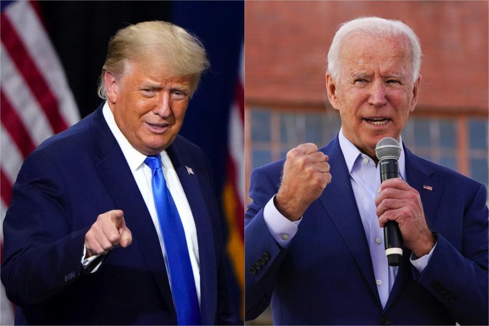 Tổng thống Trump và ông Joe Biden tiếp tục đối đầu trong cuộc đua Nhân vật của năm 2020