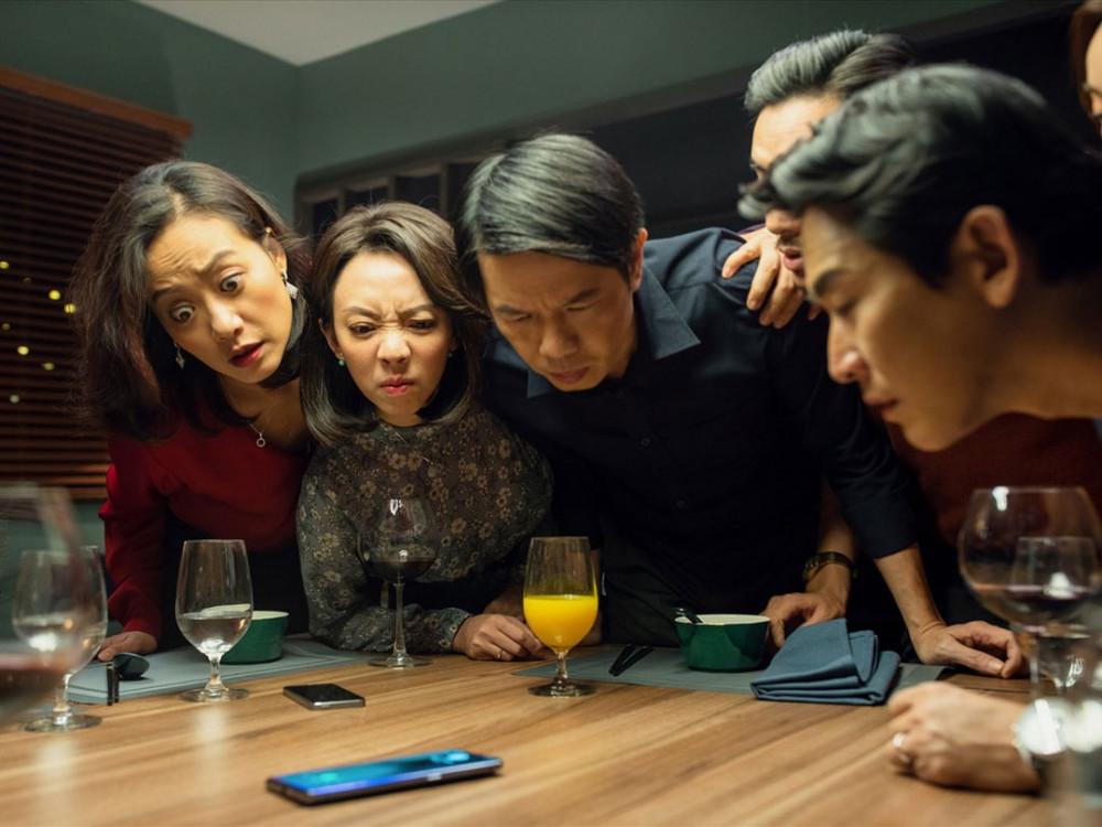 Phim Tiệc trăng máu được dán nhãn 18+ vì có một số câu thoại, cảnh quay cần được giới hạn người xem.