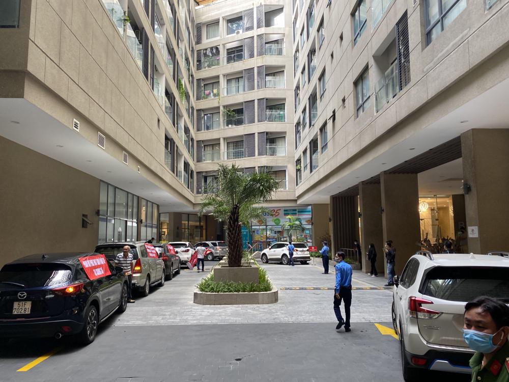 Vừa qua, nhiều cư dân sinh sống tại chung cư The