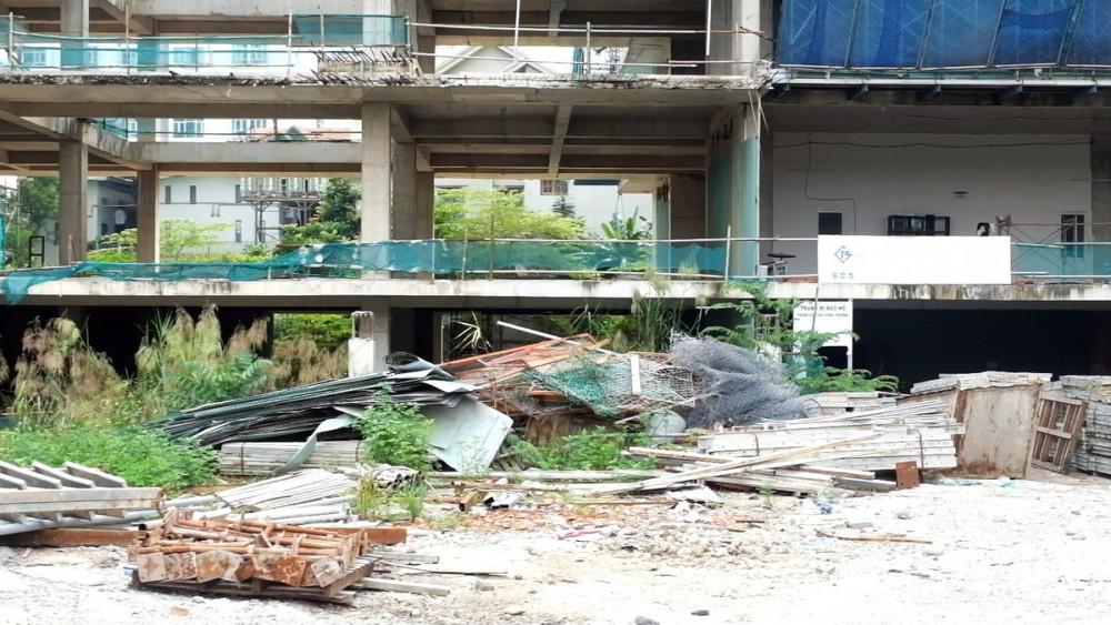 Công ty Đông Mê Kông thất hứa trong 2 năm qua, vật tư dự án có dấu hiệu xuống cấp