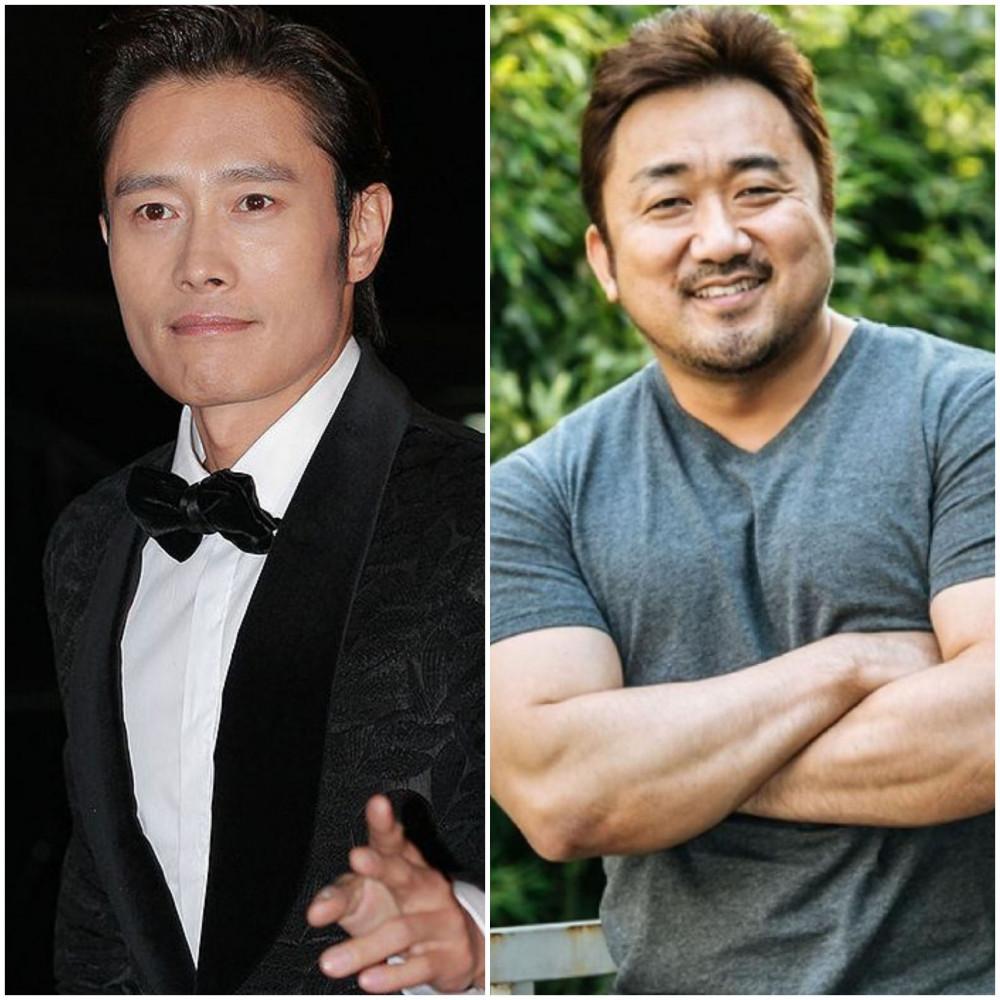 Lee Byung Hun và Ma Dong Seok lần lượt xếp vị trí thứ 2 và thứ 3 trong dánh sách các ngôi sao điện ảnh đáng chú ý năm 2020.