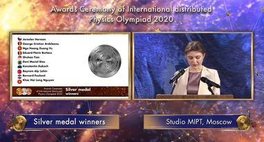 Lễ tổng kết và trao giải được tổ chức theo hình thức trực tuyến.