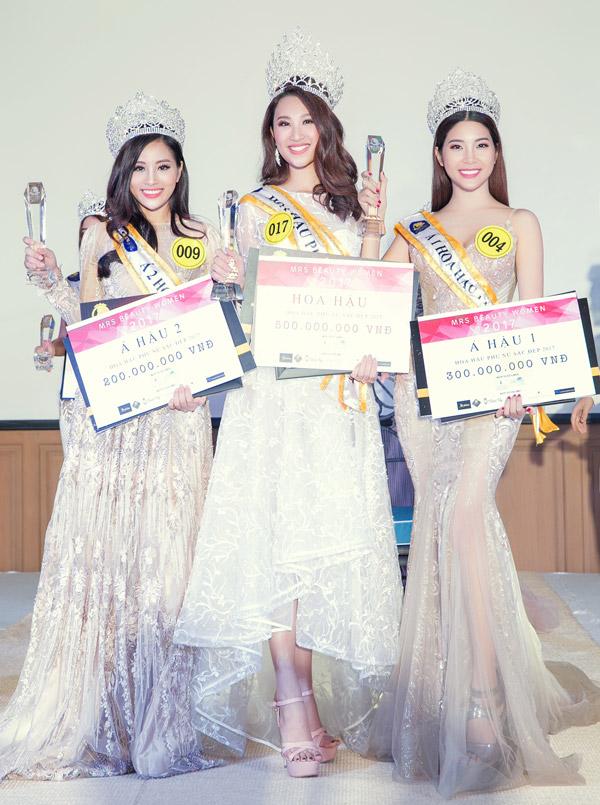 3 người đẹp thi chui cuộc thi Hoa hậu Phụ nữ Sắc đẹp 2017 tại Thái Lan