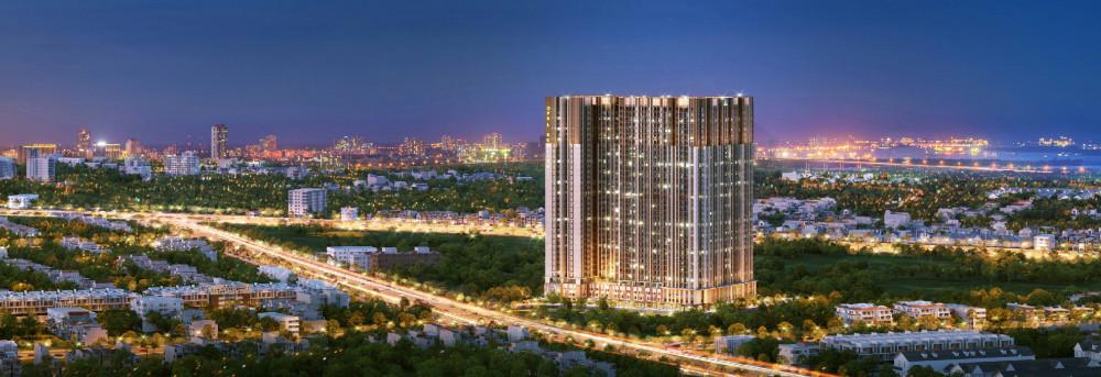 Dự án Opal Skyline nằm trên mặt tiền đường Nguyễn Văn Tiết, trung tâm TP. Thuận An, cách Quốc lộ 13 chỉ 800m