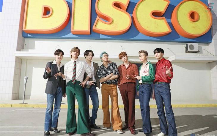 Ca khúc Dynamite là bước ngoạt quan trọng của BTS trong năm 2020.