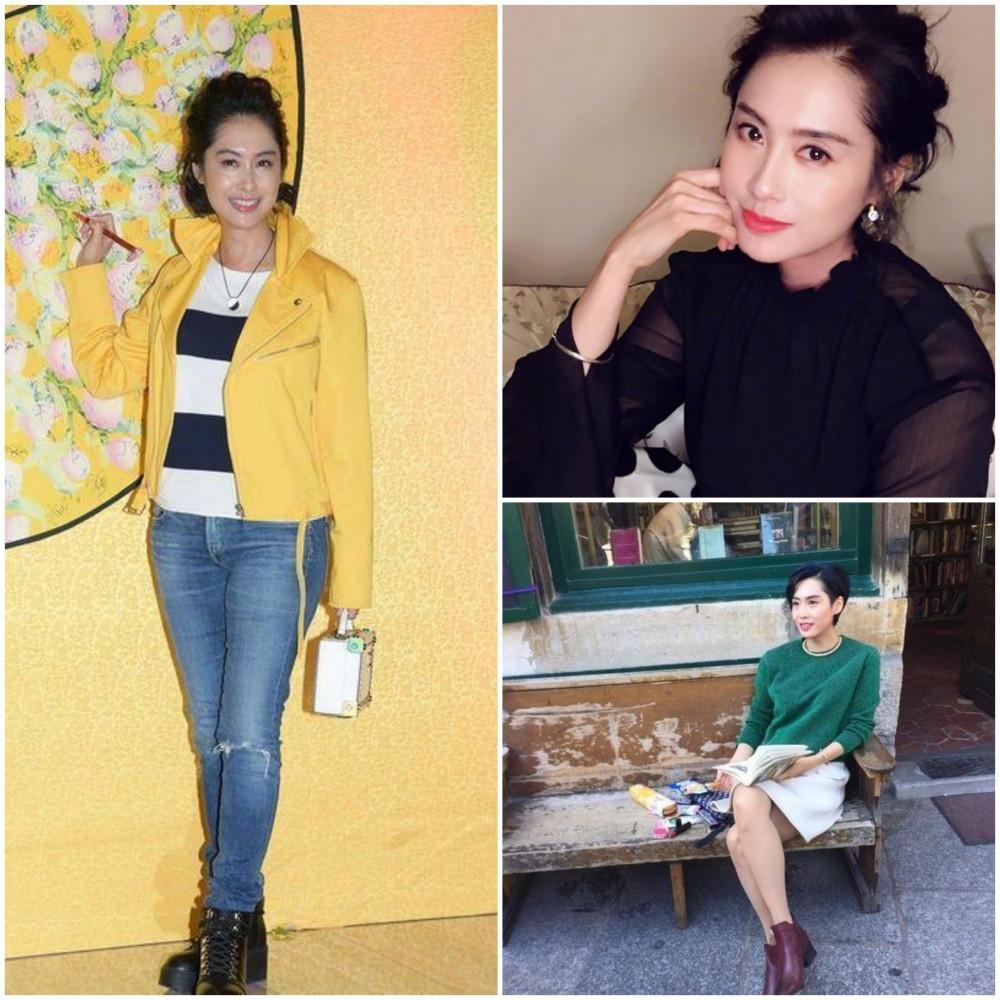 Đời thường, Chu Ân yêu thích những phong cách thời trang trẻ trung, khỏe khắn khoe trọn đôi chân thon dài của cô nàng.