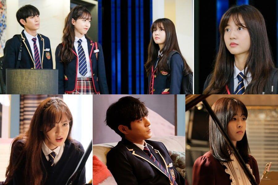 Dàn diễn viên trẻ gây ấn tượng trong phim.