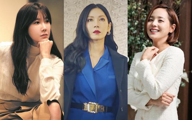 Lee Ji Ah, Kim So Yeon và Eugene - bộ ba nữ chính Cuộc chiến thượng lưu.