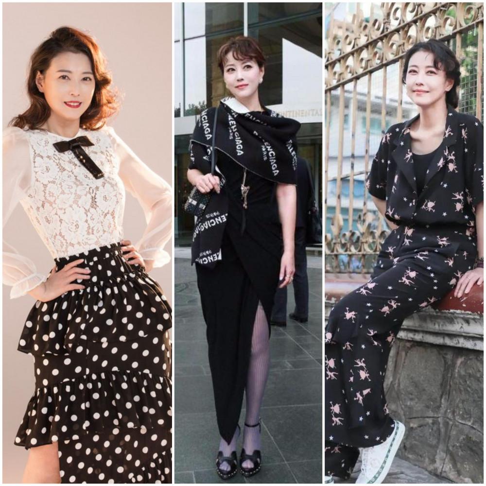 Ở tuổi 54, Châu Hải My vẫn duy trì phong cách thời trang thời thượng. Cô yêu thích những mẫu váy chiết eo, phom dáng đứng với hai tông màu đen trắng chủ đạo.
