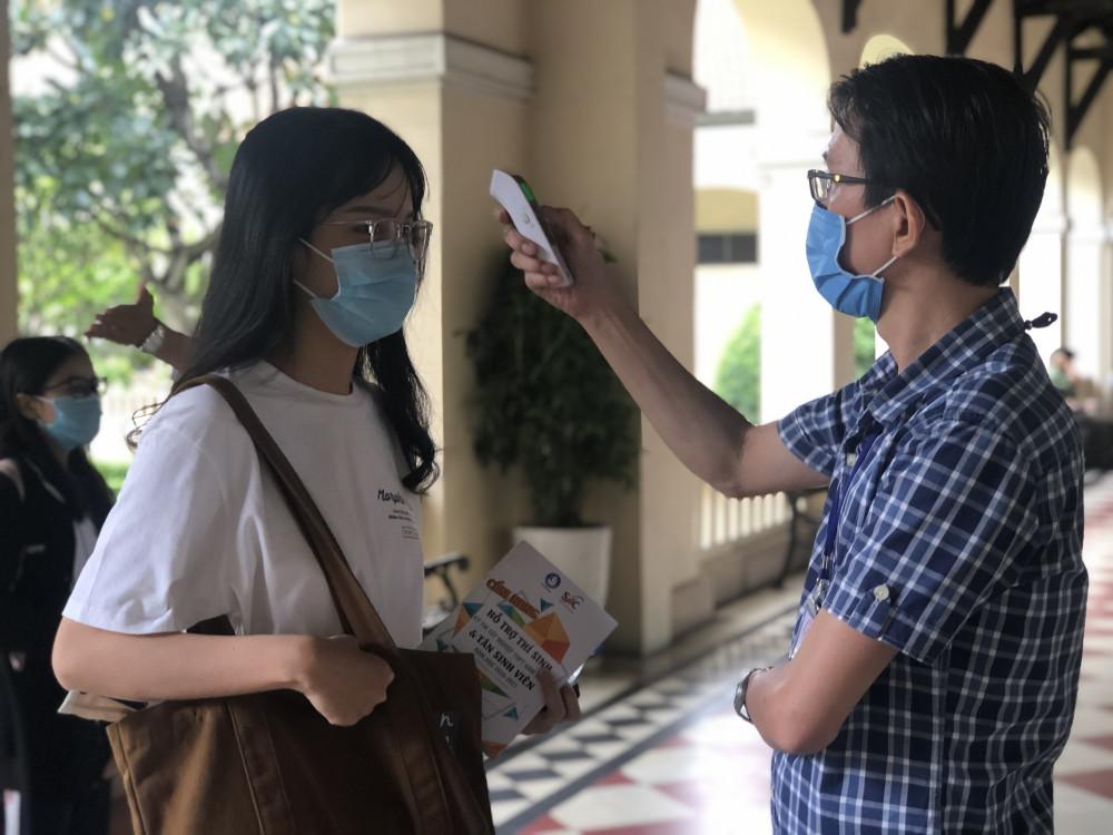 Học sinh phải thực hiện các biện pháp phòng chống dịch