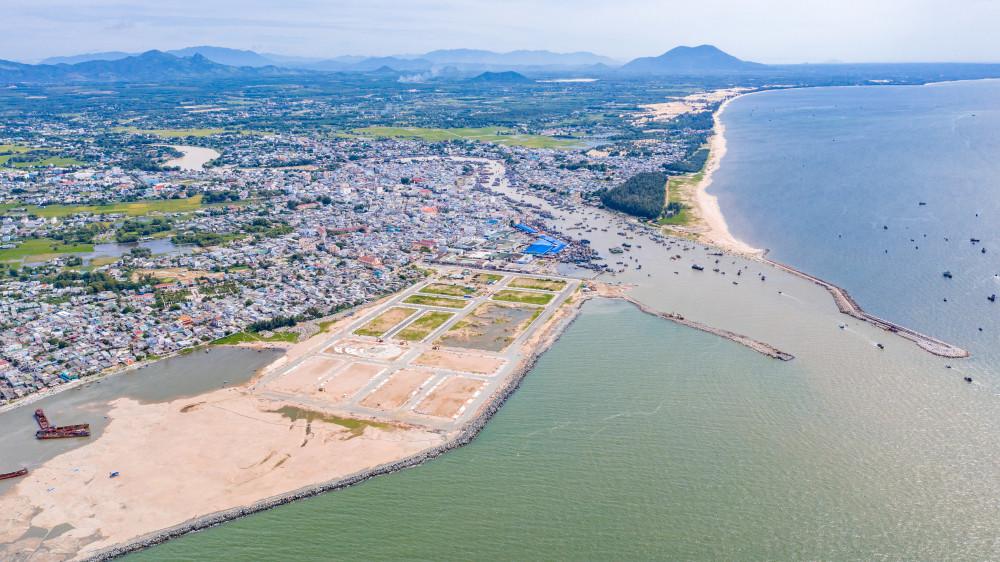 """Một dự án nhà phố biển ở P.Phước Lộc, La Gi đang được nhiều khách hàng săn đón chờ đón """"thành phố"""" La Gi tương lai"""