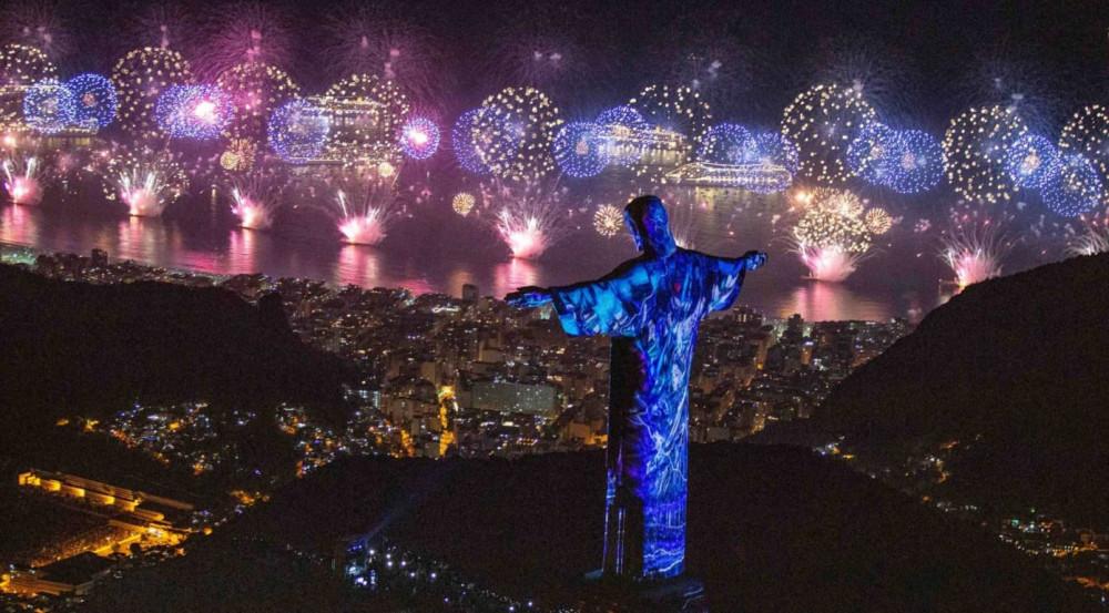 Rio sẽ tổ chức màn trình diễn ánh sáng thay thế cho pháo hoa trong giao thừa năm nay