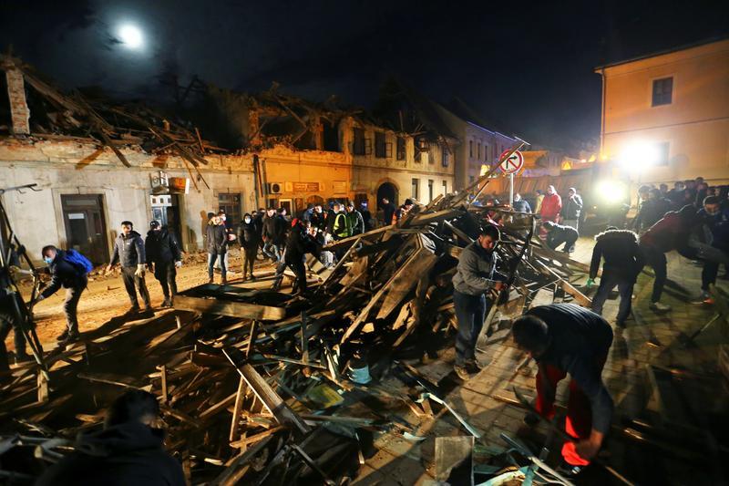 Croatia hứng chịu 2 trận động đất liên tiếp trong 2 ngày qua.