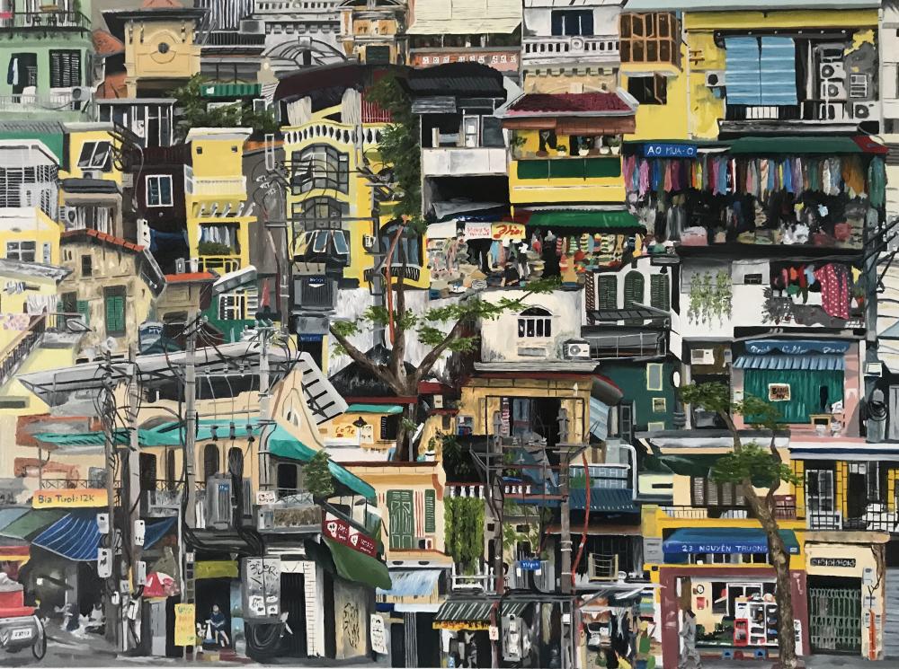 Theo Mike, phố cổ Hà Nội là một trong những hình ảnh đẹp nhất của thủ đô