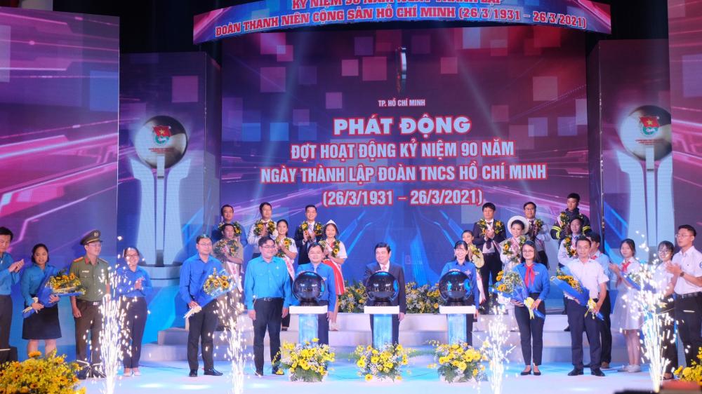 Khởi động đợt hoạt động kỷ niệm 90 năm Ngày thành lập Đoàn TNCS Hồ Chí Minh.