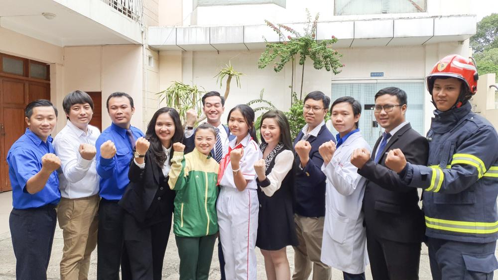 12 gương Công dân trẻ tiêu biểu TPHCM 2020.